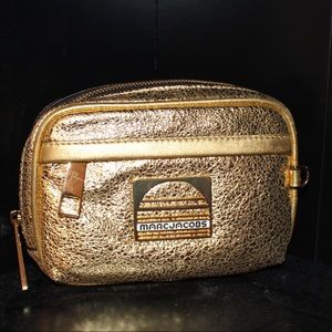 ✖️MARC JACOBS✖️Golden Metallic Leather Fanny Pack